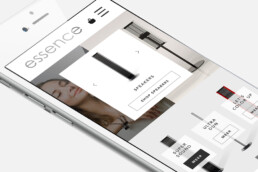 webdesign mobile | essence | deep