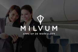 logo design   milvum   deep