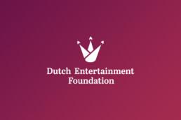 logo design | dutch entertainment foundation | deep
