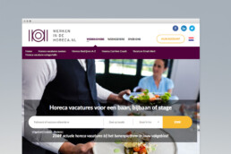 website design | werken in de horeca | deep