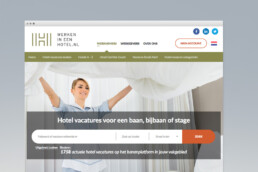 website design | werken in een hotel | deep