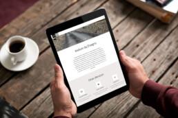 responsive website design   disegno   deep