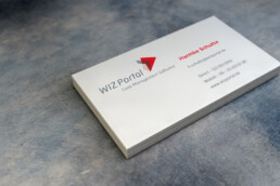 businesscard design | wizportal | deep