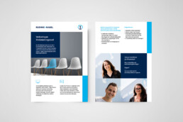 flyer design | kuehne+nagel netherlands | deep