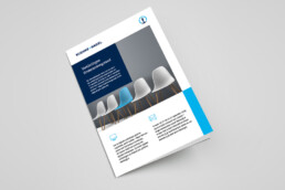flyer design | kuehne+nagel netherlands | deep