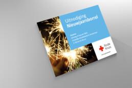 uitnodiging design | rode kruis amsterdam | deep